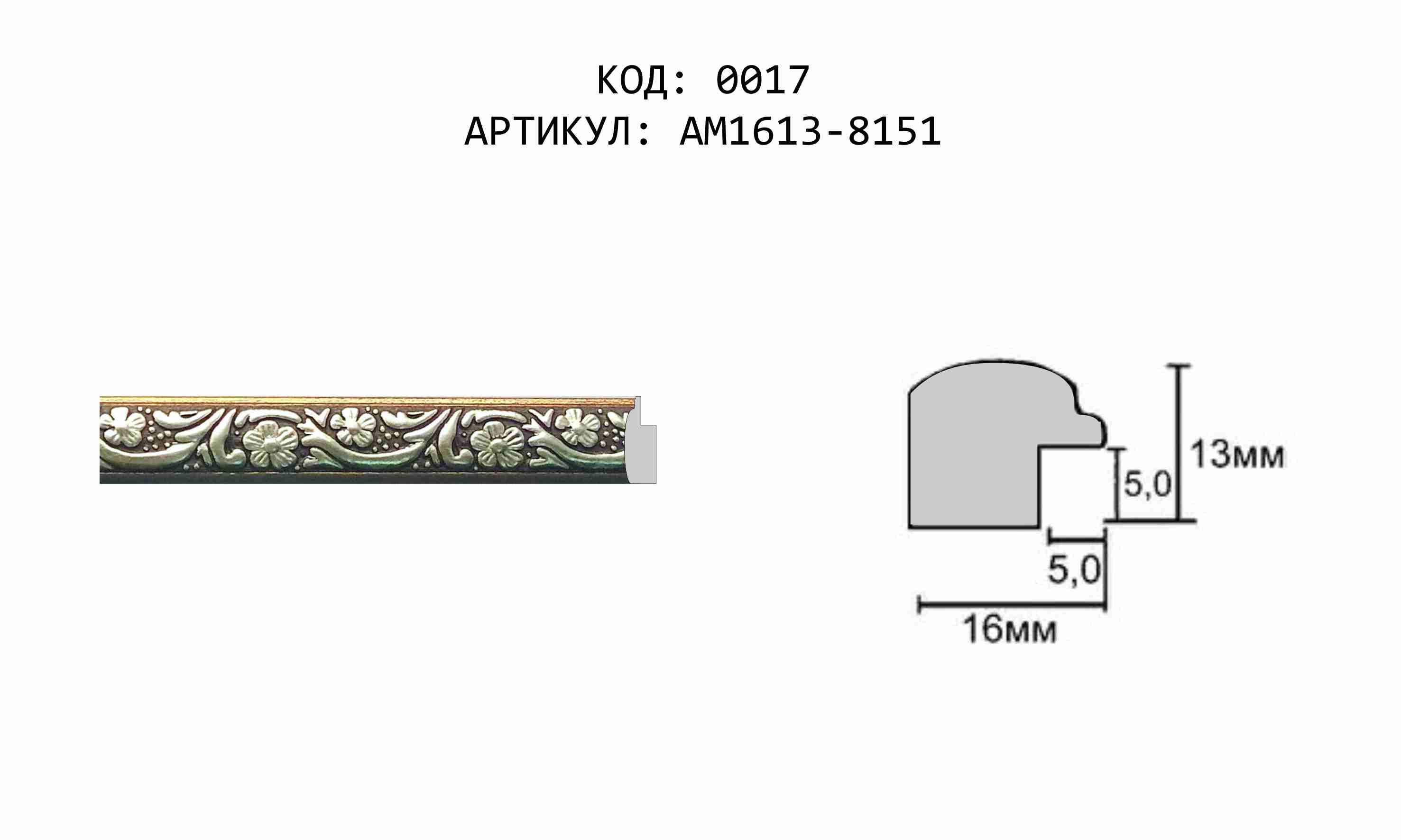 Артикул: AM1613-8151