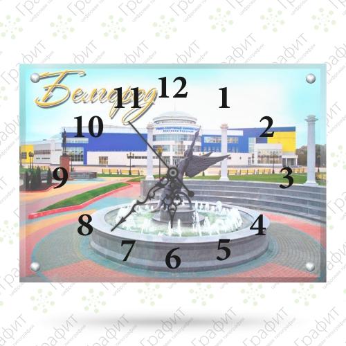 Часы настенные, стекло 30 х 40 см